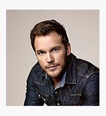"Chris Pratt Actor Christopher Michael ""Chris"" Pratt Photographic Print"
