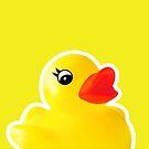 Rubber Ducky [iPad / iPhone / iPod Case] by Didi Bingham