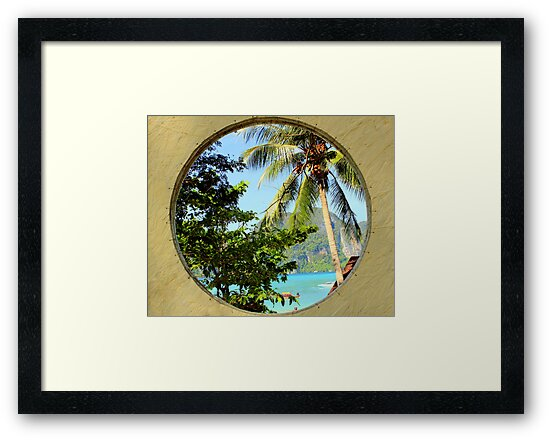 Framed View - Ko Phi Phi Island - Thailand by Honor Kyne