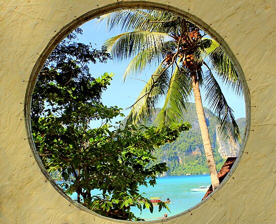 Framed View - Ko Phi Phi Island - Thailand by Honor Kyne