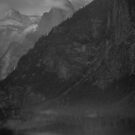 Half Dome in B&W by luther102