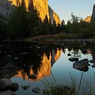 El Capitan at sunset by luther102