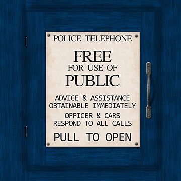 Police Telephone by Xaphod
