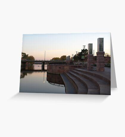 River Walk at Cherapa Place Greeting Card