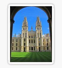 All Souls College, Oxford Sticker