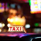 Hong Kong Taxi by Stuart Robertson Reynolds