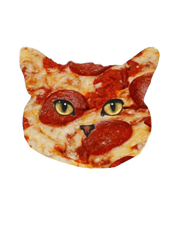 Quot Pizza Cat Quot Stickers By Sevendeuce Redbubble