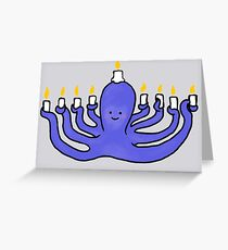 Octokkah Greeting Card