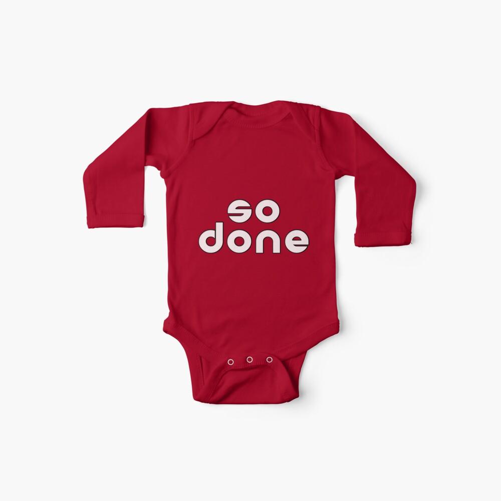 so done Baby Bodys