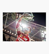Sebastian Vettel, Race of Champions Champion Photographic Print