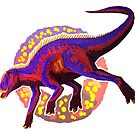 Prosaurolophus (without text) by R.A.  Faller