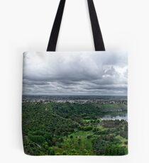 Mount Gambier Panorama Tote Bag