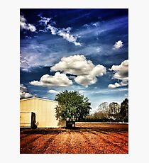 ~ the country farm ~ Photographic Print