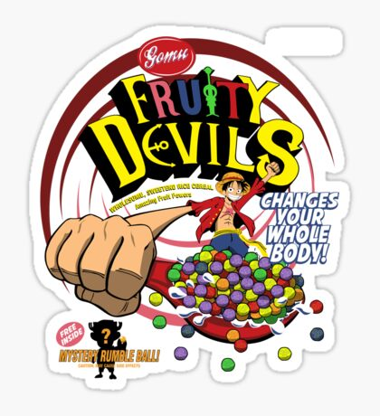 Gomu Fruity Devils Sticker