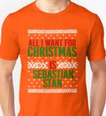 All I Want For Christmas (Sebastian Stan) T-Shirt