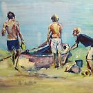 Gone fishing by christine purtle