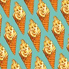 Vanilla Soft Serve Pattern by Kelly  Gilleran