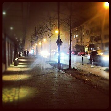 Foggy Streets of Bremen by pseudoimagery