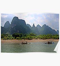 Li River, Guangxi Poster