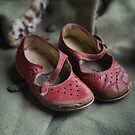 Red shoes by Jill Ferry