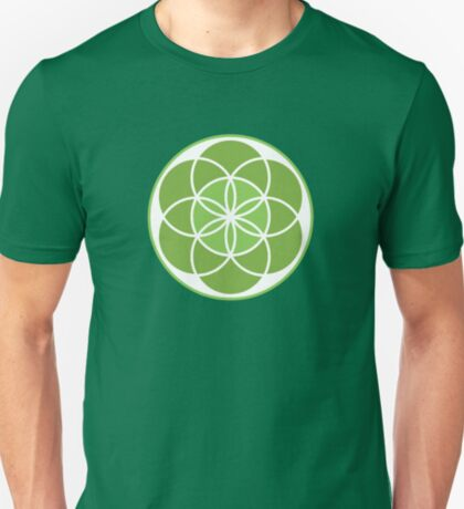 Seed Of Life - Green T-Shirt