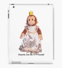 Anyone Can Be A Princess! - Black Text iPad Case/Skin