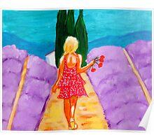 Fille de Provence Poster