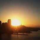 Sunset at San Francisco by NuclearJawa