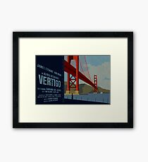 Vertigo-Golden Gate Framed Print