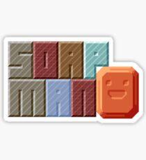 Soap Man Sticker