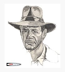 Indiana Jones Portrait Photographic Print