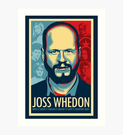 Joss Whedon es mi maestro ahora Lámina artística