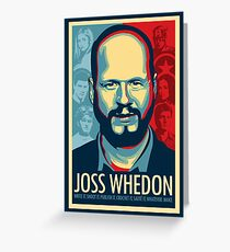 Joss Whedon Is My Master Now Greeting Card