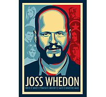 Joss Whedon Is My Master Now Photographic Print