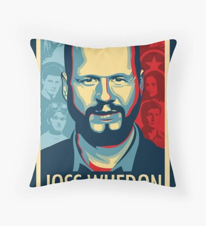 Joss Whedon Is My Master Now Throw Pillow