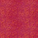 Orange Micro Dots on Grunge Red by pjwuebker