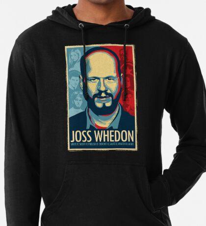 Joss Whedon es mi maestro ahora Sudadera con capucha ligera