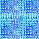 Nubby Blue Glass by pjwuebker