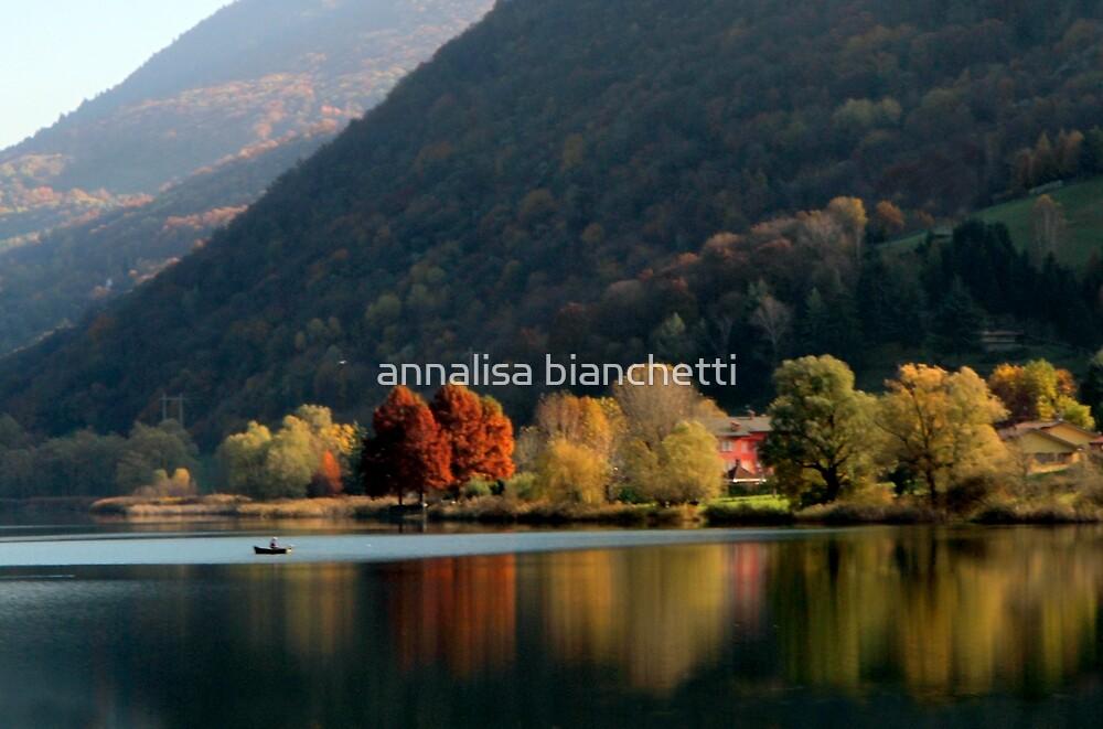 The Enchanted Lake by annalisa bianchetti