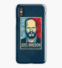 Joss Whedon Is My Master Now iPhone Case/Skin