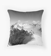 Mont Blanc Throw Pillow
