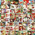 Many Many Santas by pjwuebker