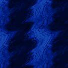 Light Blue Sound Waves on Dark by pjwuebker