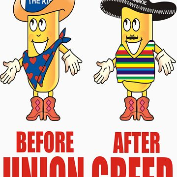 Twinkie The Kid Senor Twinkie Before and After by JamesChaffin