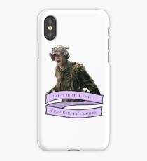 Fear is Poison iPhone Case/Skin
