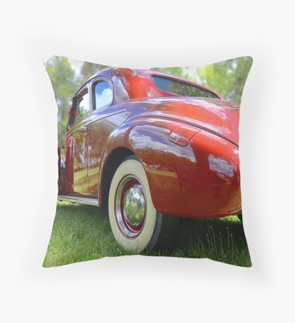 Buick on a Sunday Afternoon Throw Pillow