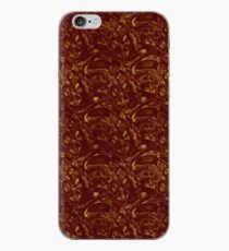 Grungy Red and Yellow Pavers iPhone Case