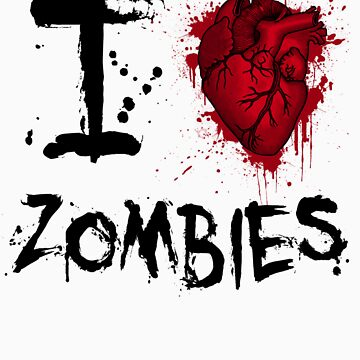 I heart zombies by samvere