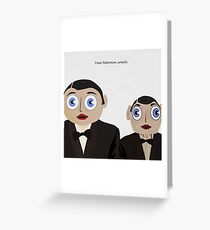 Frank Sidebottom, Actually Greeting Card