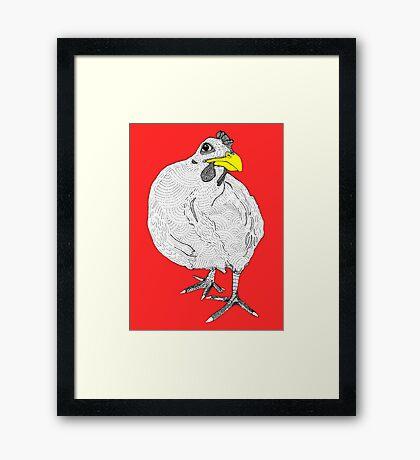 Chickentown Framed Print